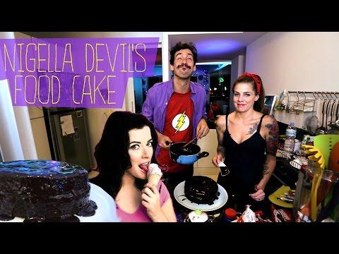 Nigella Lawson Devil's Food Cake / Bolo do Demonio da Nigella