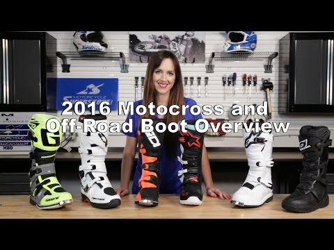 2016 Motocross & Off-Road Boot Favorites | Motorcycle Superstore