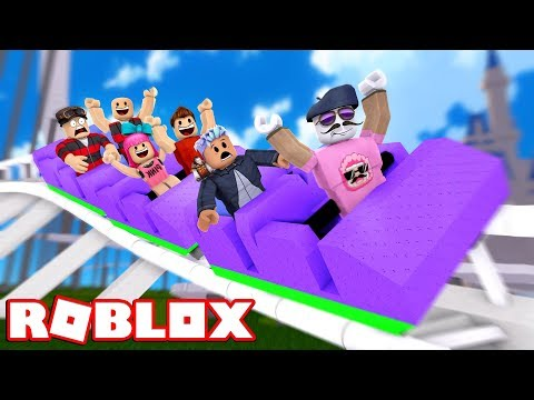 EVERYONE LOVES MY ROLLER COASTER IN ROBLOX!!