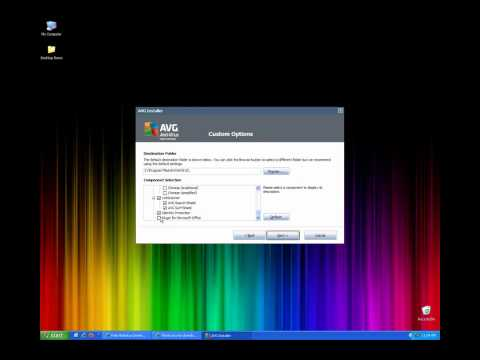 How to install AVG Anti Virus Free 2011 and upgrading from 9 and 10 in HD Window's XP 7 Vista