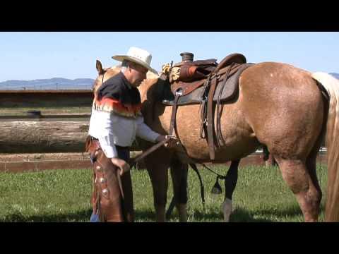 How to Western Saddle a Horse; www.thinklikeahorse.org - Rick Gore Horsemanship