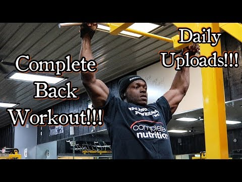 Get a Shredded Back Much Faster | Complete Back Workout