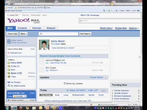 Unblock email address from Yahoo classic