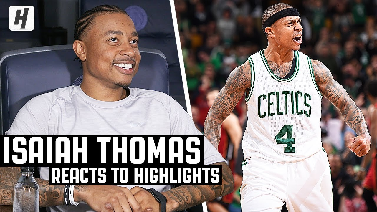 Isaiah Thomas Reacts To Isaiah Thomas Highlights! | The Reel