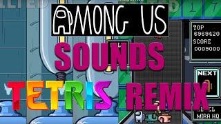 Among Us Tetris