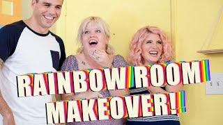 Rainbow Room Makeover!   Mr. Kate