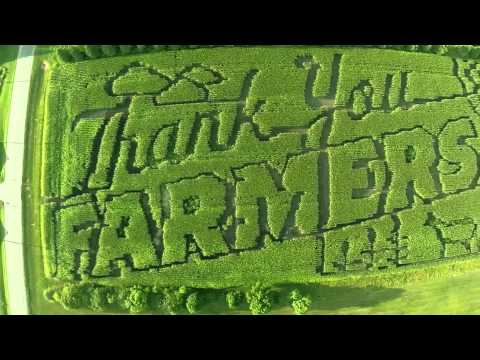 Thank You Farmers Project Corn Maze