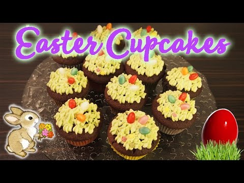Easy recipe for Easter Chocolate Cupcakes
