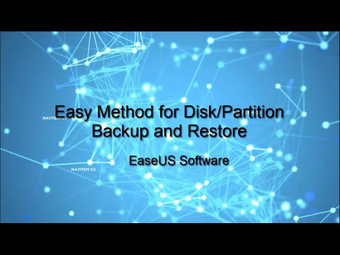 How to Backup and Restore Disk/Partition Data?