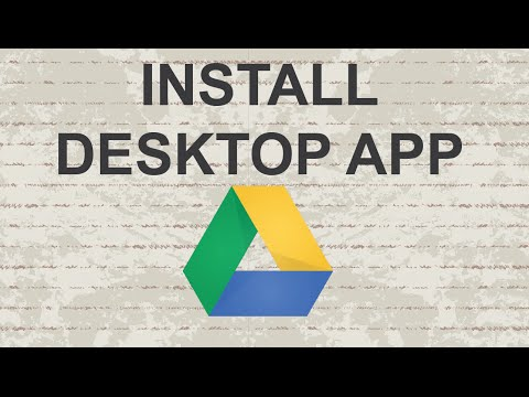 How to install Google Drive on PC