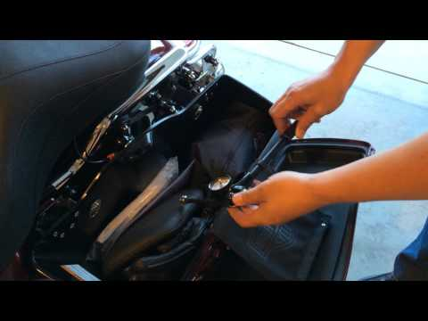 How to adjust Harley Air Suspension Shocks | Law Abiding Biker Motorcycle Podcast