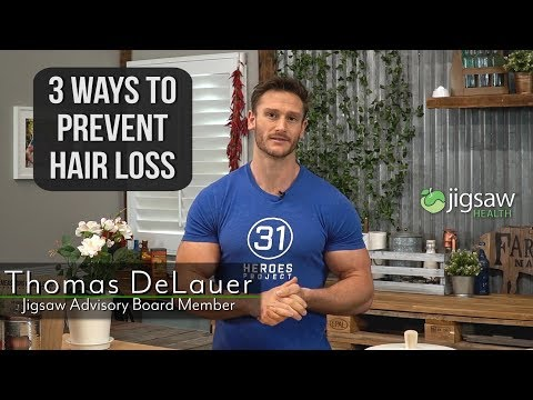 3 Ways to Prevent Hair Loss | #ScienceSaturday