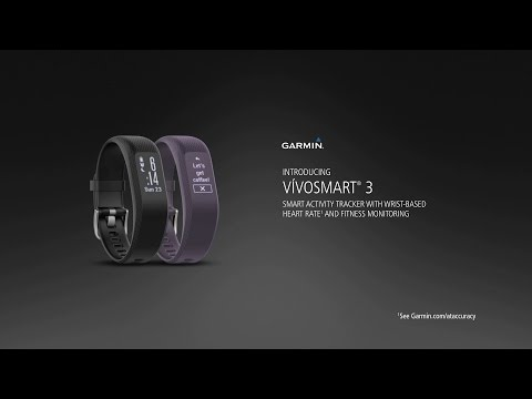 vívosmart® 3: Check Out the Smart Activity Tracker with Wrist-based Heart Rate and Hidden Display