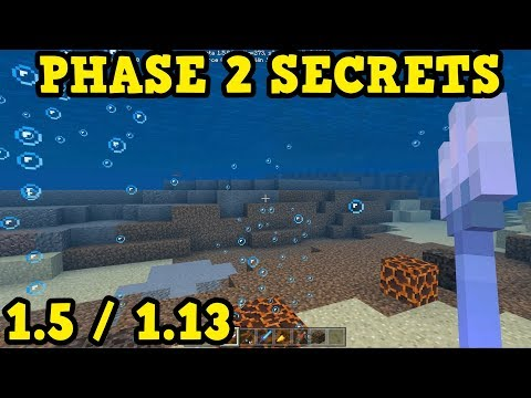 Minecraft Aquatic Update PHASE 2 Secret Feature Hunt