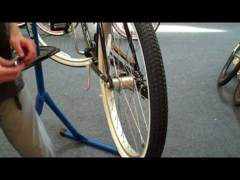 Beachbikes.com - How to remove a Beach Cruiser Bike Shimano Internal 3 Speed  Shifter & Rear Wheel