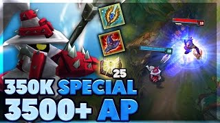 MOST AP IN LEAGUE?? | RP GIVEAWAY | 350K SUB SPECIAL | FULL AP VEIGAR SUPPORT | BunnyFuFuu