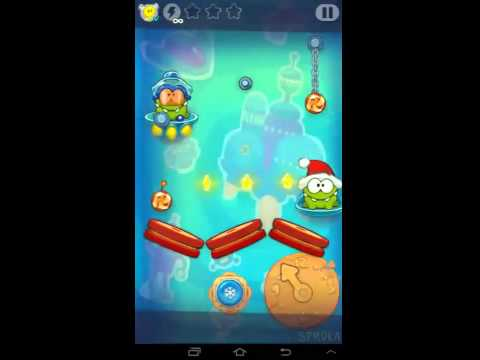Cut the Rope: Time Travel (The Future) - Level 1-15 ~ 3 Stars Hints
