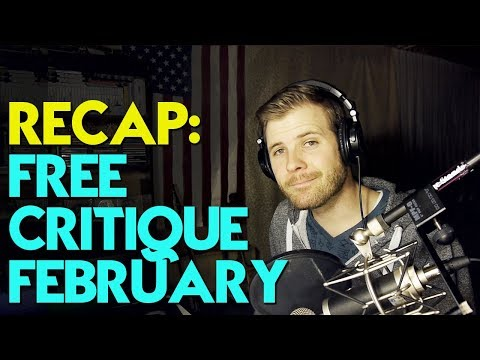 Free Critique February: Cool Songs & Common Mistakes