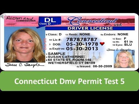 Connecticut DMV Permit Test 5