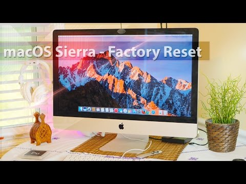 Mac : Factory reset / Fresh install ( macOS Sierra ) by GadgetsXray