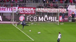 Manuel Neuer full warm up