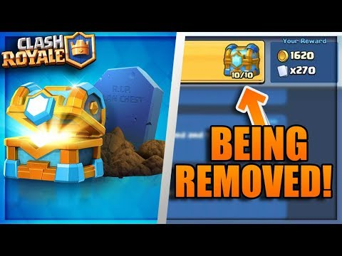 WTF! CLAN CHEST IS BEING REMOVED! Clash Royale APRIL UPDATE NEW FEATURES / CLAN CHEST GONE!