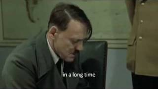 Hitler's angry reaction to the iPad