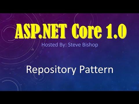 44. (ASP.NET Core 1.0 & MVC) Repository Pattern