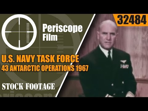 U.S. NAVY TASK FORCE 43  ANTARCTIC OPERATIONS  1967 DESERT WITHOUT SAND 32484