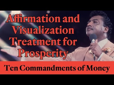 Rev. Ike: Affirmation and Visualization Treatment For Prosperity! (Law of Attraction)