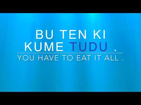 Learn Kabuverdianu ( Cape Verdean Creole ) Word of the Day - TUDU