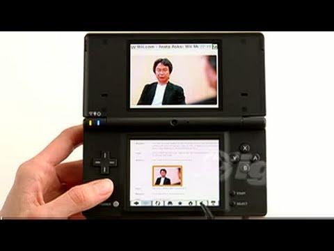 Nintendo DSi Browser Nintendo DS Trailer - Scrolling
