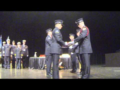 2014 NYSAFC Ridge Road FIre District American Flag Folding