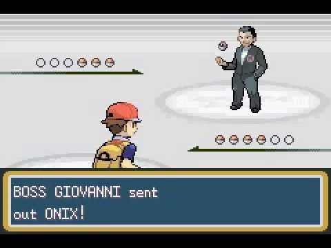 Pokemon Leaf Green - Giovanni (Battle 1)