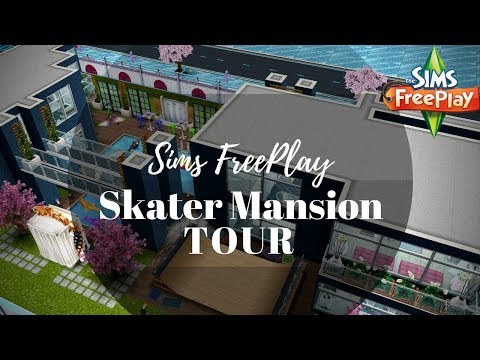 Skater Party Mansion | Tour | Sims FreePlay