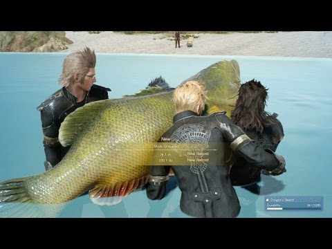 230.7lb Murk Grouper Final Fantasy XV