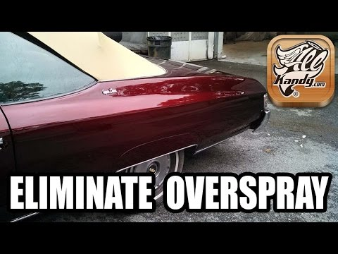 HOW TO ELIMINATE OVERSPRAY OFF YOUR VEHICLE, RIMS OR CHROME