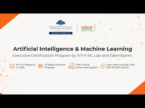 Foundations of AI/ML Program: Welcome Message from Director, IIIT-Hyderabad