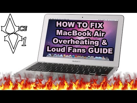 How To Cool Your Macbook Air Loud Fans Hot Temperature Fix & Choiix Cooling Pad Review