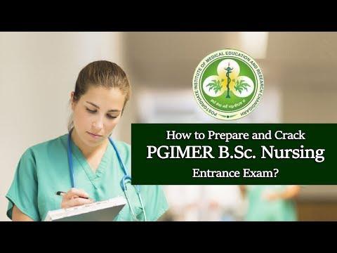 How to Prepare and Crack PGIMER B Sc  Nursing Entrance Exam?