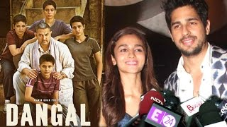 Alia Bhatt & Sidharth Mal ra Reaction After Watching Aamir