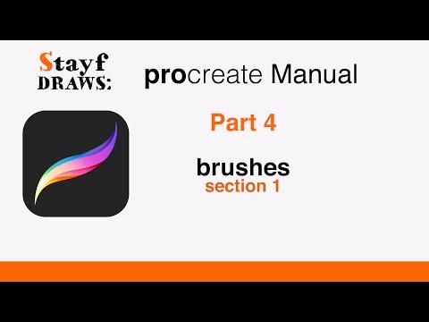 Procreate Manual Part 4: Brushes