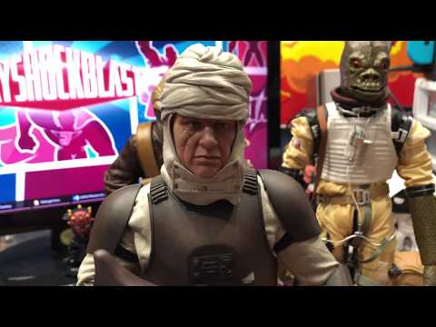 Dengar Star Wars Sideshow Collectibles 1/6th Scale Figure Unboxing