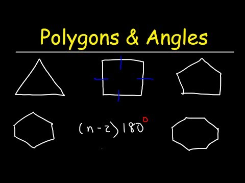 Interior Angles of a Polygon - Geometry