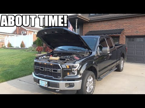 First Performance Mod For The F150! (Roush)