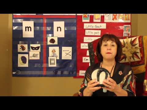 Teaching the letter M sound