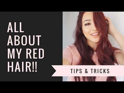 HOW I DYE & MAINTAIN RED HAIR