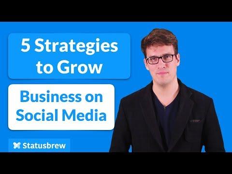 Social Media Marketing: 5 Strategies for Small Business [2018]