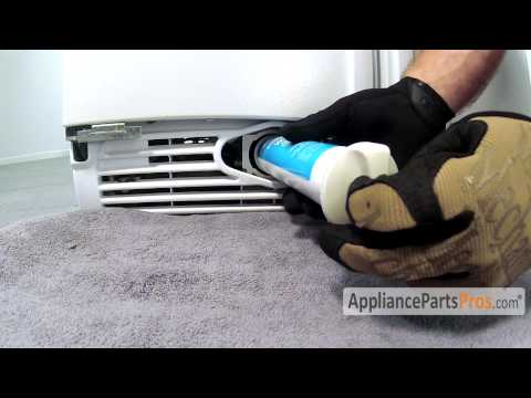 Refrigerator Water Filter Cap - How To Replace