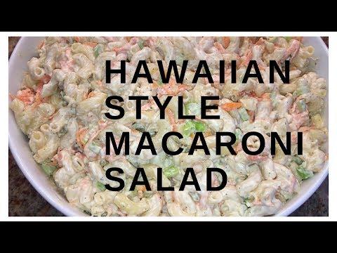 Recipe Share | Hawaiian Style Macaroni Salad